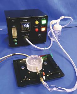 ガスの温度と流量を調整できるガス温度調節装置GTC-01